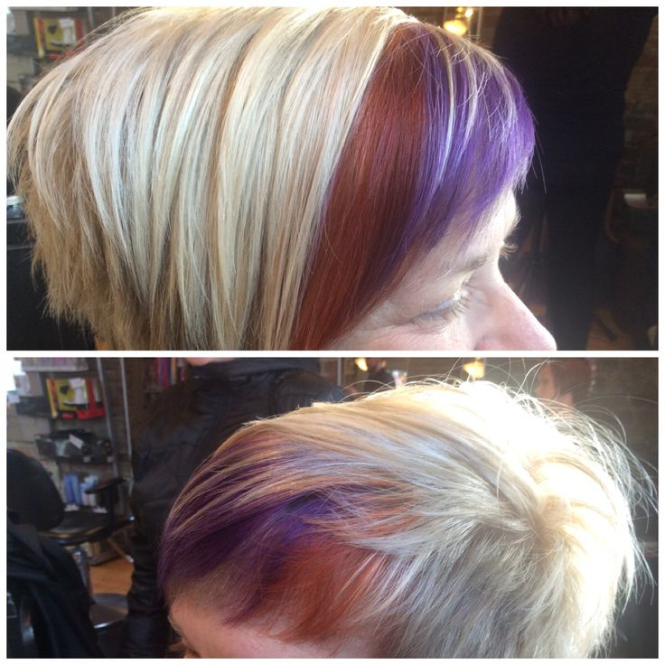 Violet and Copper Goldwell Elumen