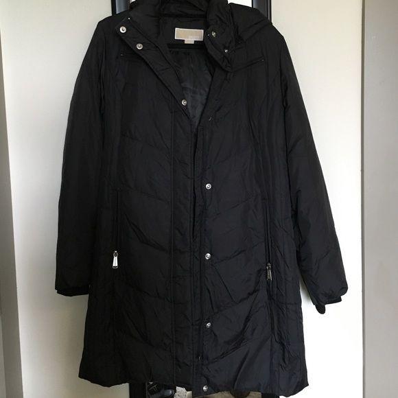 Michael Kors women's parka coat Michael Kors parka coat- all black- new condition MICHAEL Michael Kors Jackets & Coats Puffers