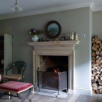 classical arrangement fireplaces