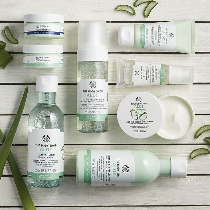 Our range of fragrance-free and alcohol-free Aloe Vera products is clinically proven to be suitable for sensitive skin and helps to soothe signs of irritation. Aloe Vera is a natural skin soother and perfect for allergy-prone, itchy or red skin. The Aloe Vera used in our products is sourced from our community trade partners and contains no added preservatives.