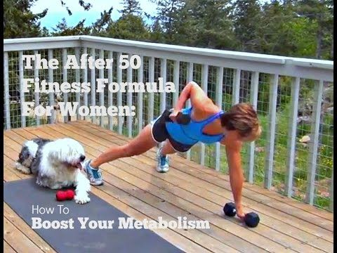 The After 50 Fitness Formula For Women: Metabolic Blast - YouTube