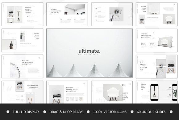 Ultimate Powerpoint by Slide_Master on @creativemarket