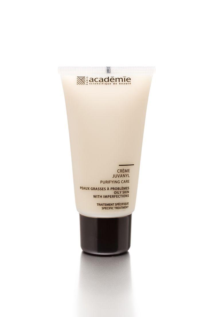 Heb je een erg glimmende huid? Én last van een teveel aan talg? Crème Juvanyl is een echte kuurcrème. Het is een soort shocktherapie voor je huid! De crème is ook als maskertje te gebruiken.  Hij reguleert de talg en mateert de huid.