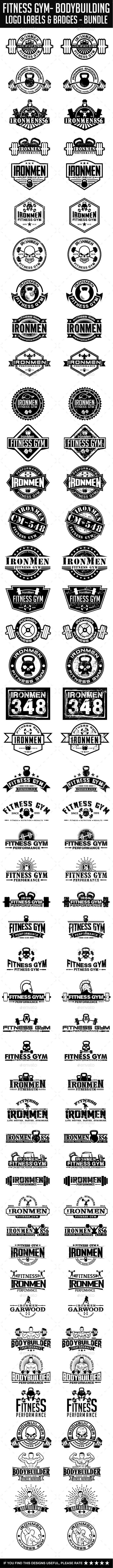 37 best gym ideas images on Pinterest | Gym logo, Logo templates and ...