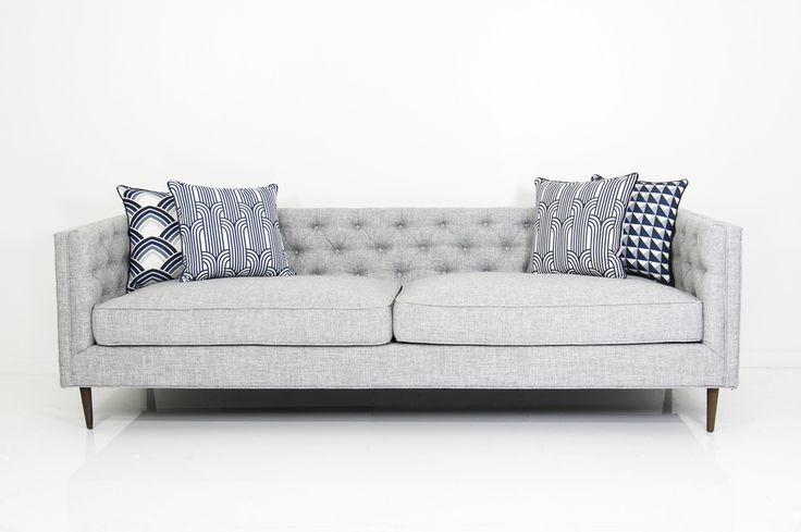 007 Sofa in Zuma Pumice Linen