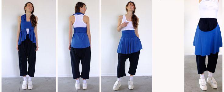 clotilde cape, top, skirt