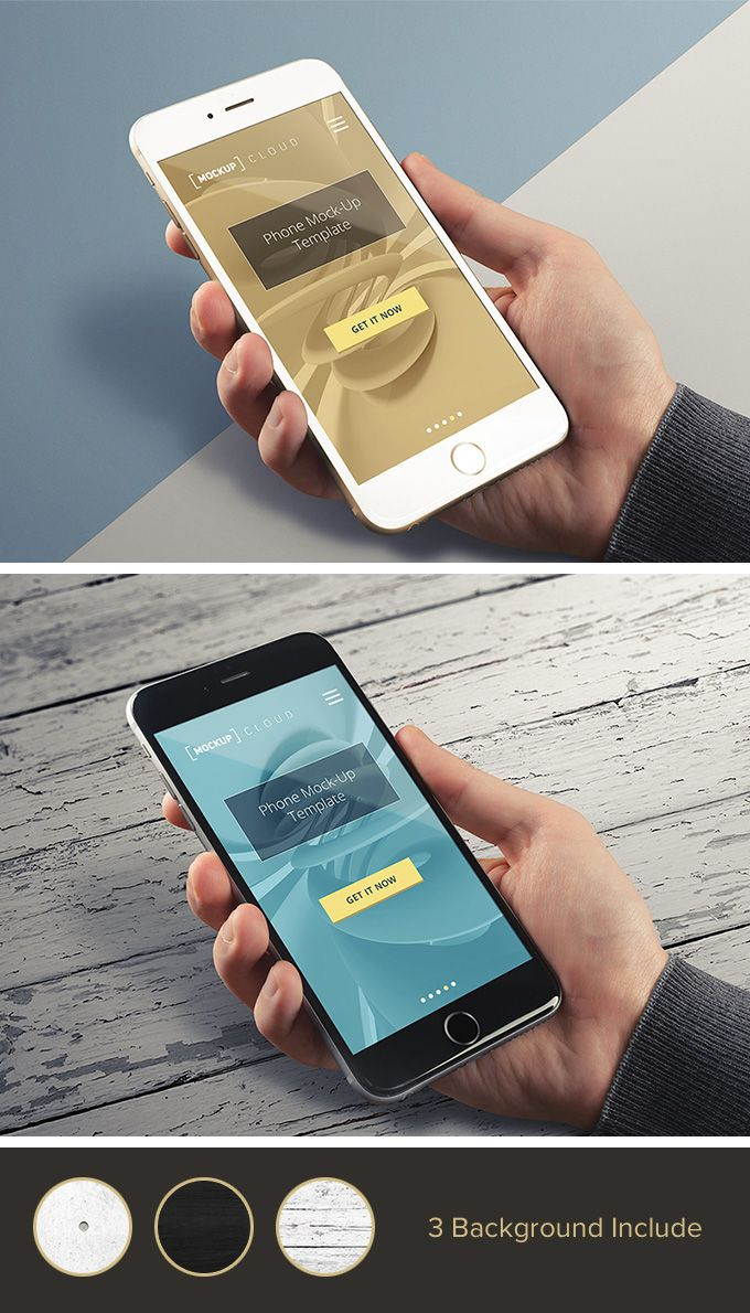 Free Real Photo iPhone Mockup (115 MB) | By MockupCloud on pixelbuddha.net