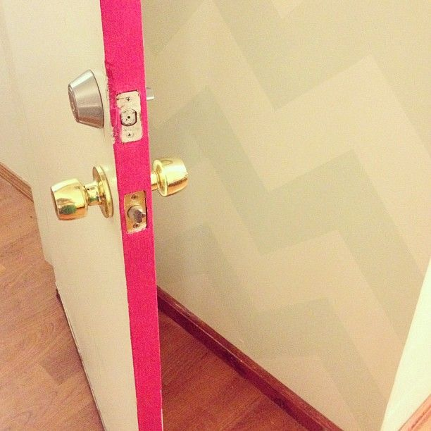 colour pop - painting the inside of your doors