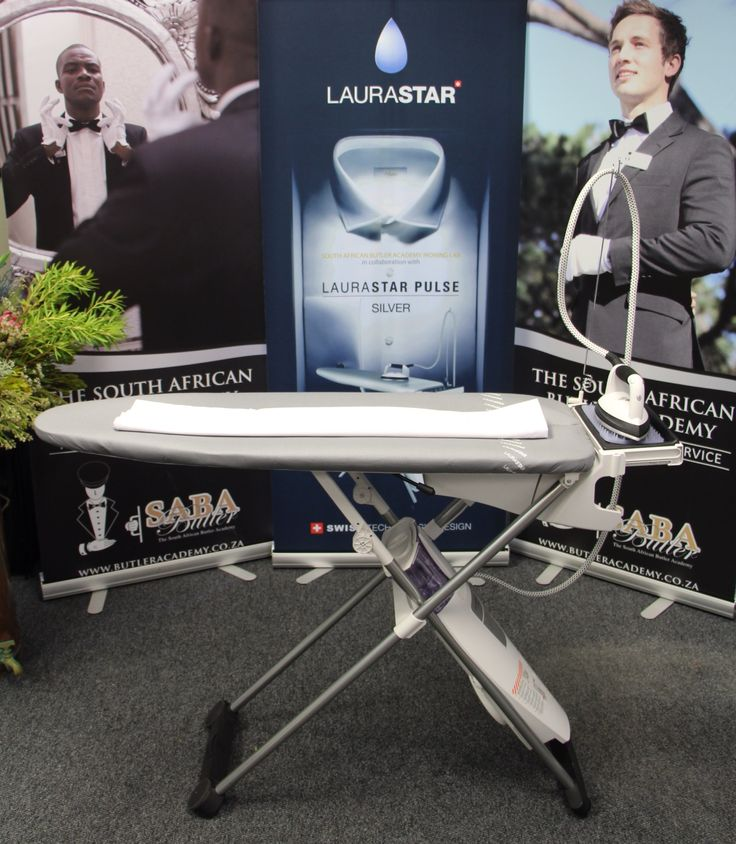 SABA Ironing Lab in conjunction with LAURASTAR