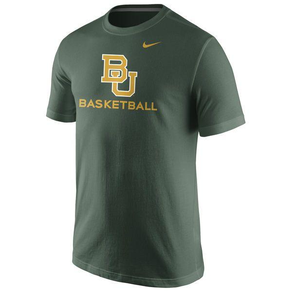 Baylor Bears Nike University Basketball T-Shirt - Green - $19.99