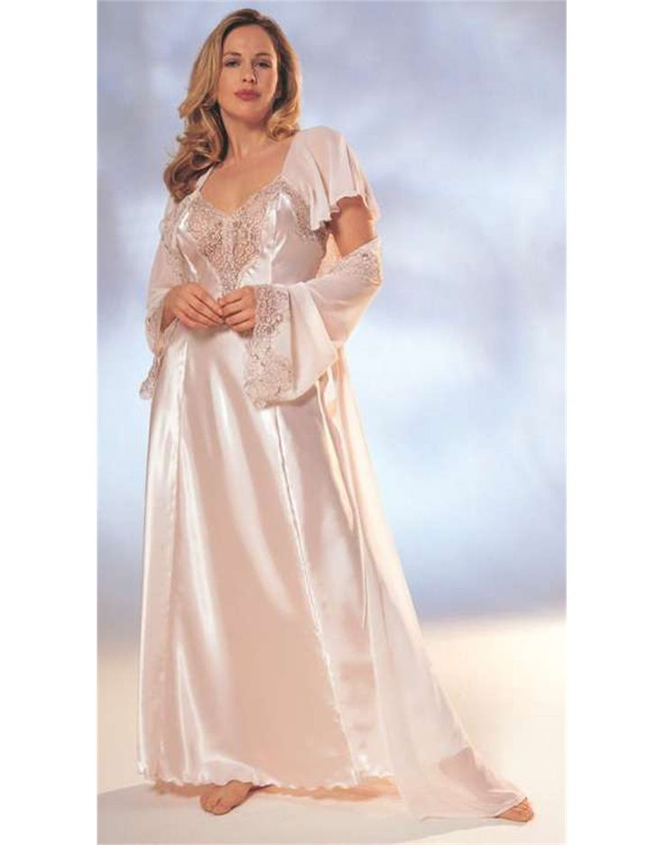 Long Satin Nightgowns for Women | Under Covers ...