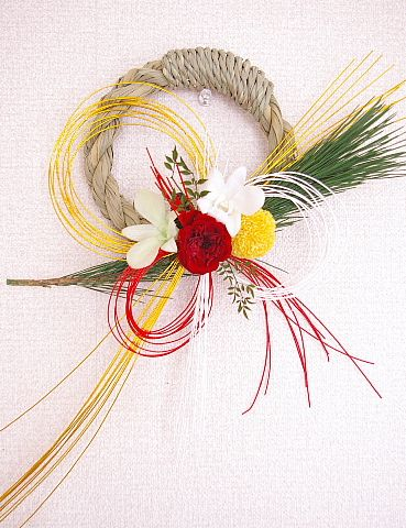 1/1 New Year - Japanese New Year wreath