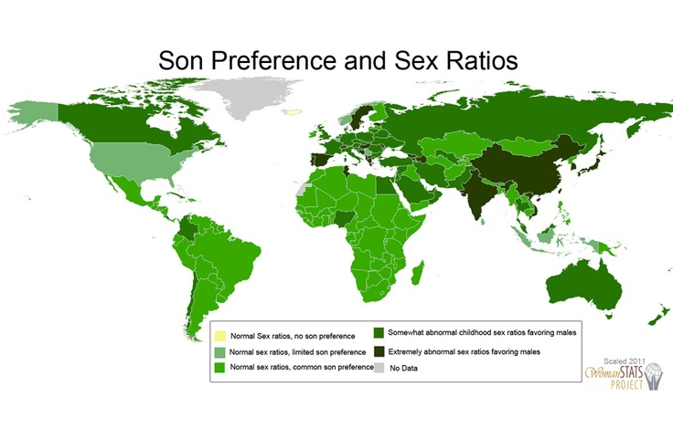 "The son preference in China is part of the reason that Nicholas Kristof and Sheryl WuDunn wrote ""Half the Sky: Turning Oppression into Opportunity for Women Worldwide"": Maps, Male Sex, Sex Ratio, Sons Prefer, Sex Prefer"
