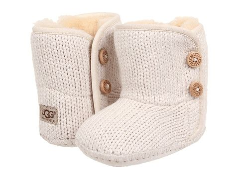 UGG Kids Purl (Infant/Toddler) Ivory - Zappos.com Free Shipping BOTH Ways