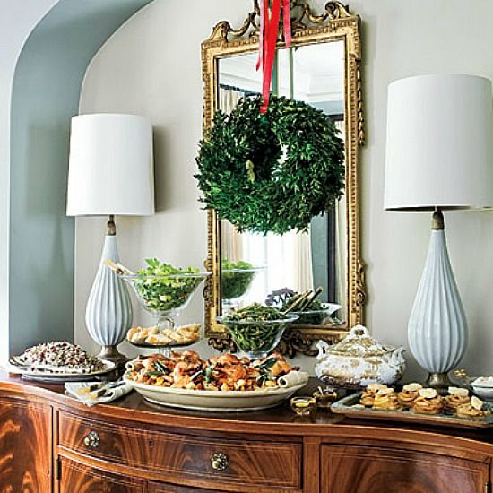 17 Best Ideas About Christmas Dining Rooms On Pinterest: 17 Best Ideas About Wreath Over Mirror On Pinterest