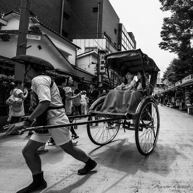Rickshaw / 13:57, As a Geisha