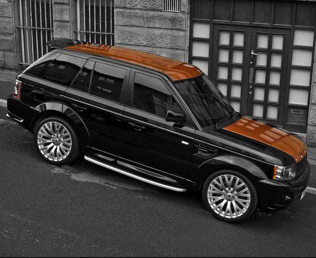 Vesuvius Edition Range Rover Sport 300 by Afzal Kahn