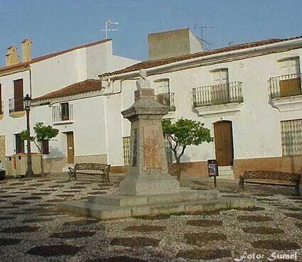 Plaza   Zalamea la Real # Huelva#Spain
