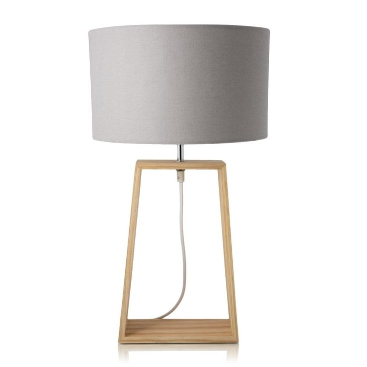 Quad Wood Lamp