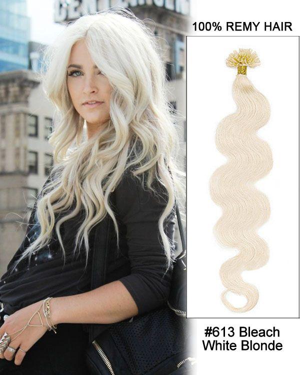 53 best feshfen nail tipu tip images on pinterest remy hair bleach white blonde body wave nail tip u tip remy hair keratin hair strands pmusecretfo Choice Image