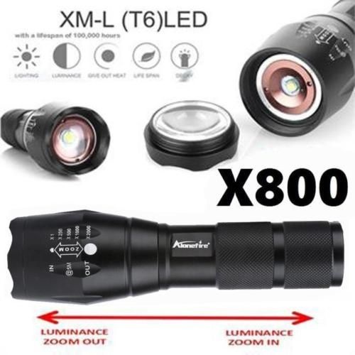 Lega-Stabile-X800-Tattico-Torcia-LED-Militare-Lumen-Alonefire-ShadowHawk