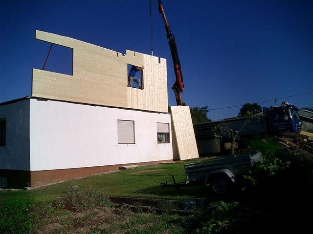 CLT at Osterwasser House, Austria. Osterwasser House, Designed by amorphous design architects UK