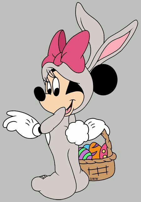 Minnie Mouse - Easter