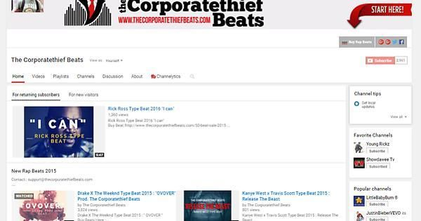 Subscribe To The Corporatethief Beats on YouTube | #datpiff #mixtape  http://ow.ly/WMBr1pic.twitter.com/tB8slPr4wR https://twitter.com/corporatethief/status/941442706575904768  (@corporatethief)