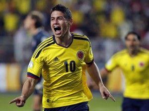 Goleador Seleccion Colombia en la historia de los mundiales, James Rodriguez. http://www.tuingresocyberneticoya.com/gracias-seleccion-colombia-y-jose-peckerman-por-formar-el-excelente-equipo-de-futbol-que-tenemos-en-el-mundial-2014/