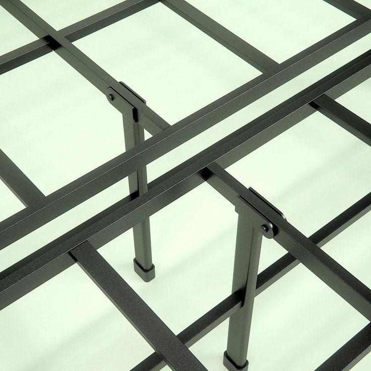 Demetric Metal Elite 14 Inch Smartbase Frame Frame Steel Frame New Beds