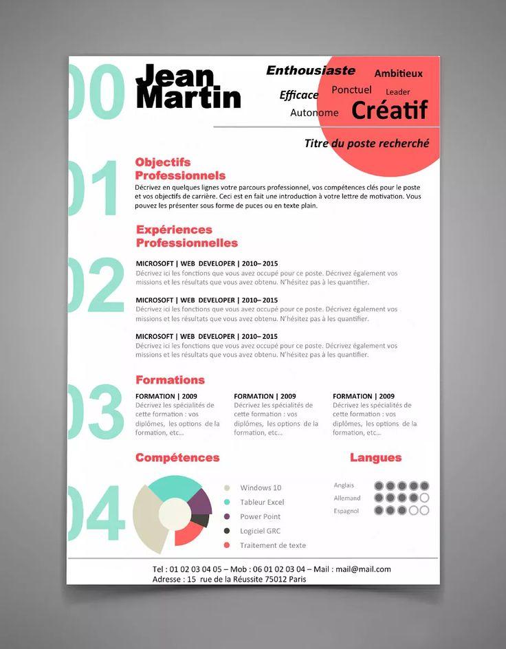 25  ide terbaik tentang cv kreatif di pinterest