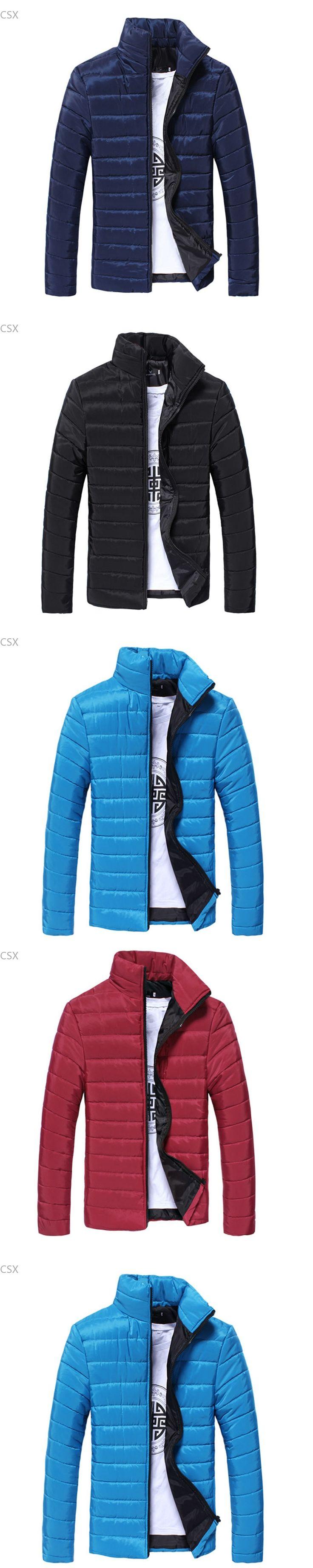Alishebuy 2014 Men's Parkas Jacket Winter Cotton Coats Mens Wadded Jacket Man Jackets Warm Coat Down Padded Coat 29