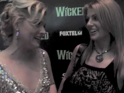 WICKED SYDNEY OPENING NIGHT-LUCY DURACK