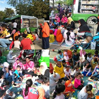 GPMB Provinsi Kalimantan Timur: Kegiatan Mendongeng, Membaca buku dan Nonton Baren...
