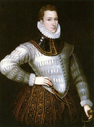 Sir Philip Sidney, nephew of Robert Dudley, Earl of Leicester  Born at Penshurst Place, Kent, he was the eldest son of Sir Henry Sidney and Lady Mary Dudley. His mother was the daughter of John Dudley, 1st Duke of Northumberland, and the sister of Robert Dudley, 1st Earl of Leicester. His younger sister, Mary Sidney, married Henry Herbert, 2nd Earl of Pembroke. Mary Sidney, whom upon her marriage became the Countess of Pembroke, was a writer, translator and literary patron. Sidney dedicated…