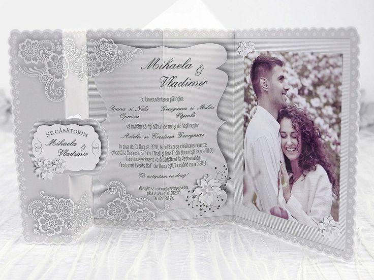 Invitatie nunta Tabloul vintage 39240 - Invitatie-Online.ro - Comanda Online si Ieftin