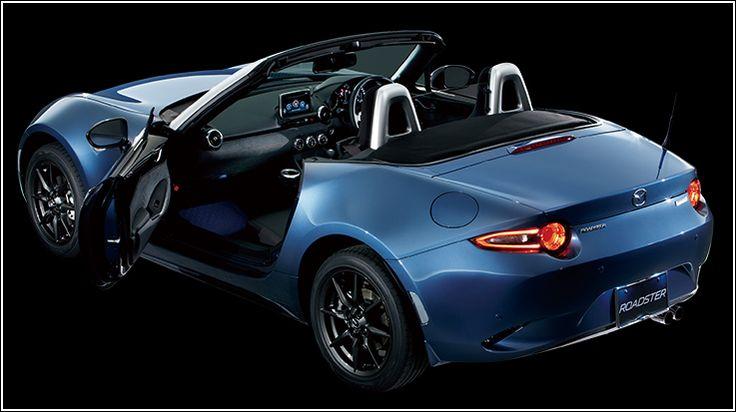 Mazda MX-5 Bright Silver Rear Trim