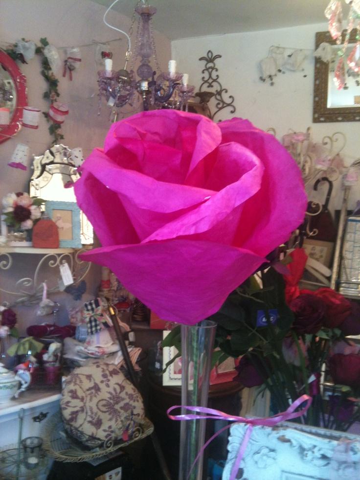 Humongous rose handmade with love