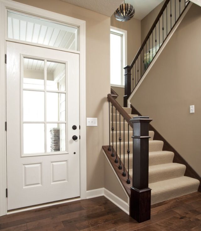 Iced chocolate livingspace pinterest neutral paint for Paint colors that go with brown trim