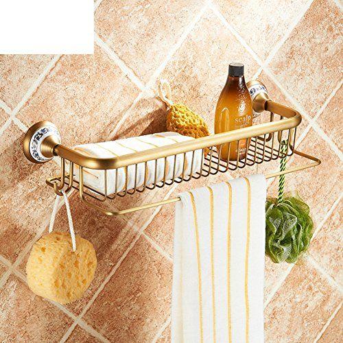 THIRD Pieno annata antico rack bagno di rame / parete asciugamano bagno barra cremagliera lavaggio singolo / cremagliera del tovagliolo / europeo
