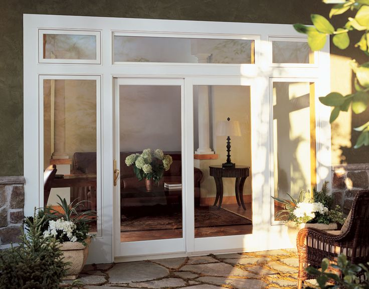 Best 25 french doors patio ideas on pinterest french for Sliding glass door to french door