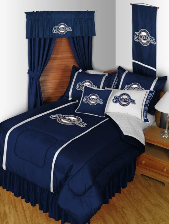 Milwaukee Brewers Bedroom In A Box Major League Baseball: 93 Best Major League Baseball Kids Bedding Images On
