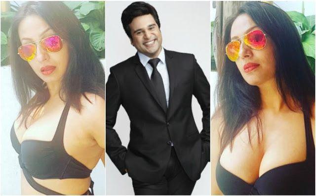 Comedian Krushna Abhishek's Bombshell wife Kashmira Shah shared Bikini Photos post Valentine's Day