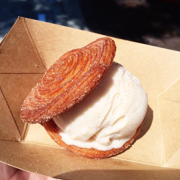 Churro & Horchata Ice Cream Sandwich