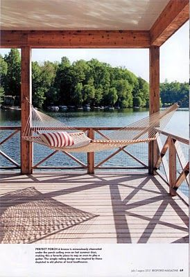 Lake deck could use one of these on my bad days..even days off work :)
