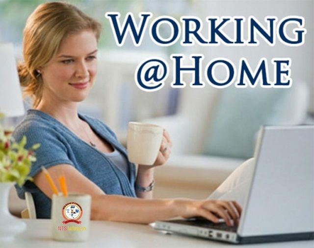 Working @ home.Please visit us- www.ntsinfotechindia.com