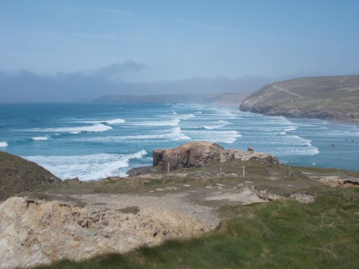 A view from Perranporth Cliffs ♥