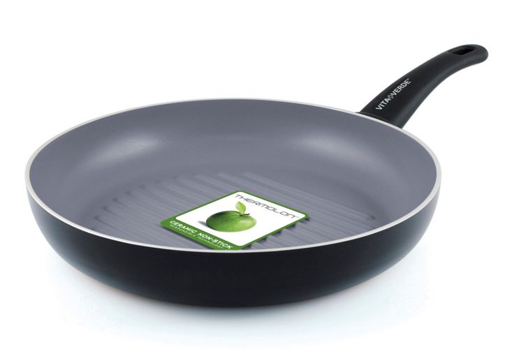 GreenPan Vita Verde Non-Stick Ceramic Grillpan - 28cm