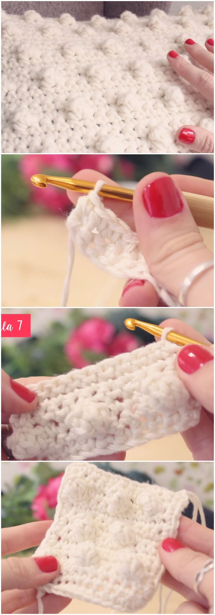 Learn To Crochet Pigeon Stitch