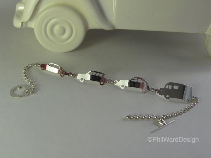 Citroen Classic Bracelet non tarnish 925 Stirling Silver. etsy - PhilWardDesign